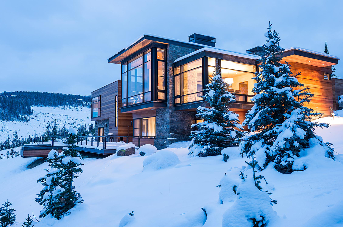 Modern Mountain House Pearson Design Group Mountain Modern